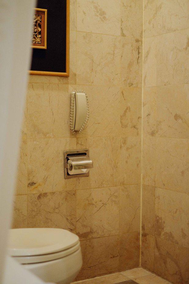telepon di toilet
